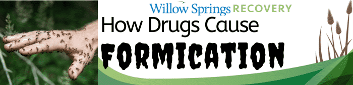 How Drugs Cause Formication - Willow Springs Addiction Recovery