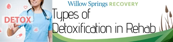 types of detoxification